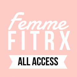 femme FITRx ALL ACCESS (6 weeks unlimited classes)*first time client