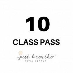 10 Class Pass