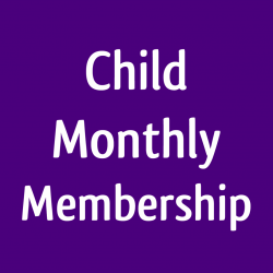 Child 6 mo. Membership paid monthly - Halo-IR booth - PRIVATE session