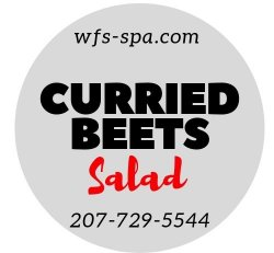 Curried Beets Salad