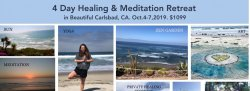 4 Day Meditation & Healing Retreat  In Beautiful Carlsbad, California