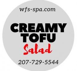 Creamy Tofu Salad
