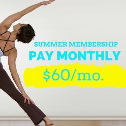 Summer Yoga Membership 2020