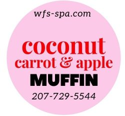 MUFFIN Coconut Carrot Apple