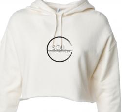 White Cropped Sweatshirt (SAS5W)