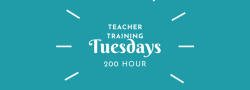 2021 - 2022 Fall Tuesday Evenings Yoga Teacher Training