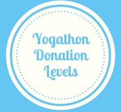 Yogathon Donation Levels