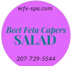 Beets Feta Capers Salad