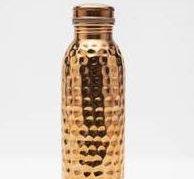 283 Water Bottle (solid copper)