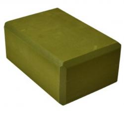 Foam Yoga Block: Earth Green