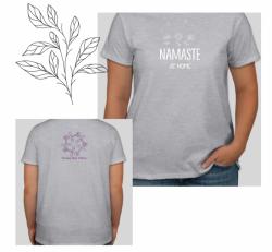 Namaste at home tee
