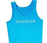 """blue tank """"warrior"""""""