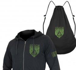Sweatshirts and Pants:  Gracie Shield Hero Hoodie