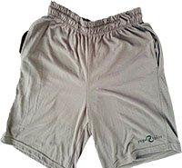 gray mens shorts
