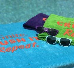 iGnite. Crush It. Repeat Beach Towel