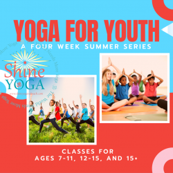 Yoga for Youth Session Pass