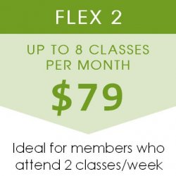 Flex 2 - 8 Classes/Mo