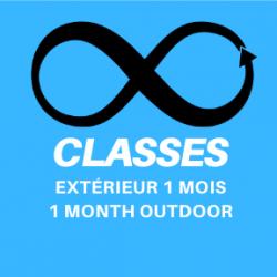 1 mois illimité - 1 Month Unlimited Outdoor Classes