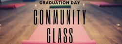 In Studio Community Class with 2020 YTT Grads
