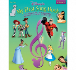 Disney - My First Song Book - Easy Piano Vol 4