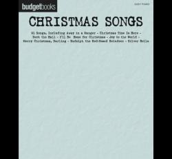 Budgetbooks Christmas Songs - Easy Piano
