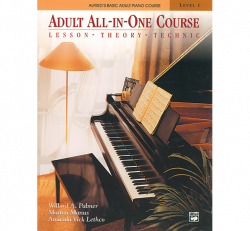 Adult Piano All-In-One Course- Lvl. 1