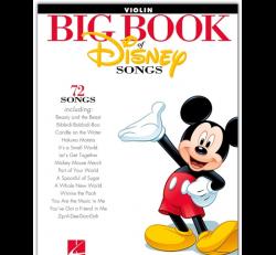 Big Book of Disney Songs - Violin