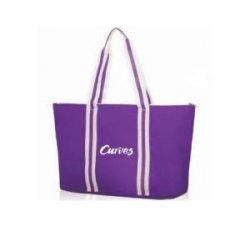 Sport tote bag, purple (US)