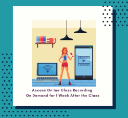 On-demand add-on - 1 week access to class recording