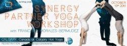 """Synergy Partner Yoga Workshop - """"Emphasizing Therapeutic Stretching"""""""