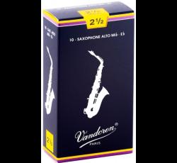 Vandoren Alto Saxophone Reeds 2.5
