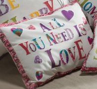 All You Need Is Love Cushion Cover or 2 For £20