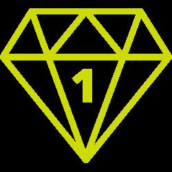 Diamond Level 1 Membership - Monthly