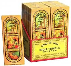 Song of India Temple Incense (1 pack)