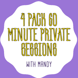 Mandy-4 Pack 60 Minute Session