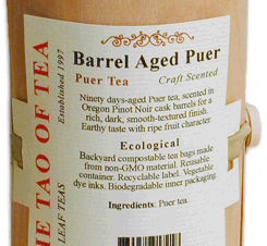 Barrel Aged Puer – Eco Collection