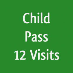12 visit - Child pass - Halo-IR booth - PRIVATE session