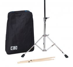 Practice Pad with Carrying Bag and Drum Sticks