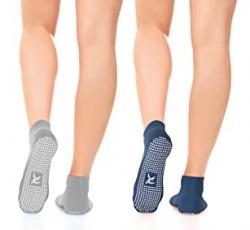 Pilates & Yoga anti-slip grip socks