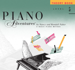 Level 5 Theory Book - Piano Adventures