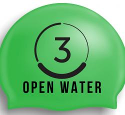 Do3 Open Water Hi Viz Silicone Swim Hat