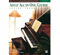 Adult All-In-One Piano Course- Lvl. 3