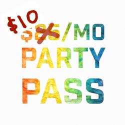 $10 PAINT PARTY PASS