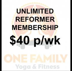 Unlimited Yearly Reformer Membership
