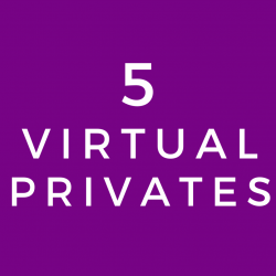 Virtual Private Lesson (5 Class Package)