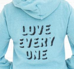 LOVE EVERY ONE Unisex Hoodie