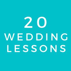 Wedding Program (20 Class Package)