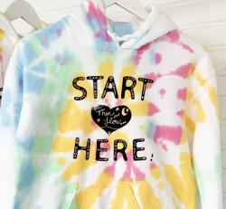 START HERE Rainbow Pullover