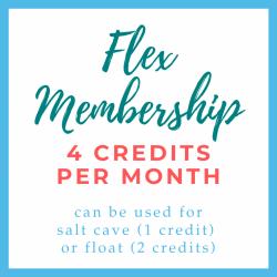 Flex Membership 4 Credits