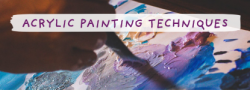 Adult Painting Technique- Textures